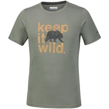 textil Herre T-shirts m. korte ærmer Columbia Miller Valley Oliven