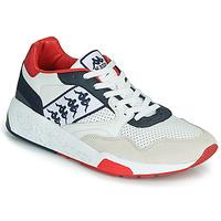 Sko Herre Lave sneakers Kappa LUXOR 2 Hvid / Rød