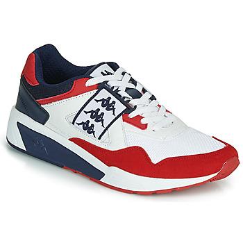 Sko Herre Lave sneakers Kappa BARSEL 2 Hvid / Rød