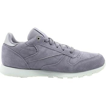 Sko Børn Lave sneakers Reebok Sport CL Leather Mcc Hvid, Grå