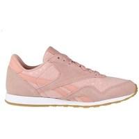 Sko Dame Lave sneakers Reebok Sport CL Nylon Slim Txt L Pink