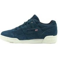 Sko Herre Lave sneakers Reebok Sport Workout Plus Mcc Hvid, Flåde