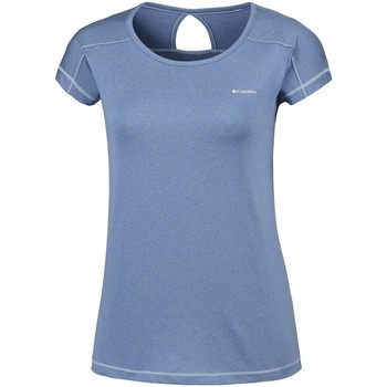 textil Dame T-shirts m. korte ærmer Columbia Peak TO Point Blå