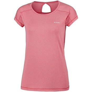 textil Dame T-shirts m. korte ærmer Columbia Peak TO Point Pink