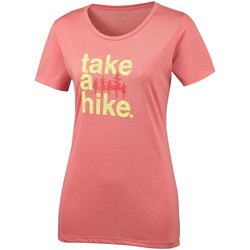 textil Dame T-shirts m. korte ærmer Columbia Outdoor Elements Iii Pink