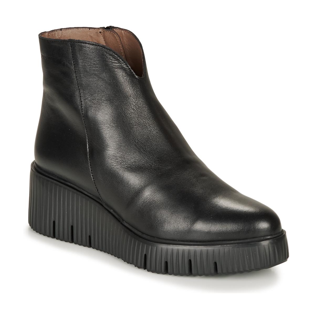 Støvler Wonders  E6210-VELVET-NEGRO