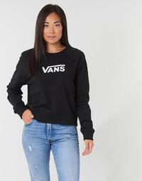 textil Dame Sweatshirts Vans FLYING V FT BOXY CREW Sort
