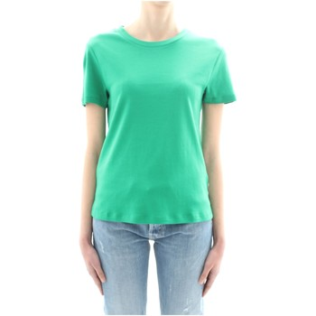 textil Dame T-shirts m. korte ærmer Scotch & Soda 150187 Green