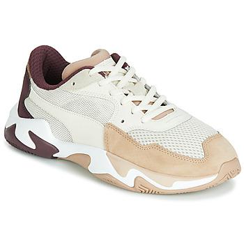 Sko Dame Lave sneakers Puma STORM ORIGIN NOUGAT Beige