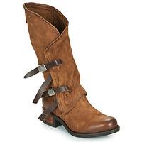 Sko Dame Chikke støvler Airstep / A.S.98 ISPERIA BUCKLE Brun