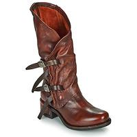 Sko Dame Chikke støvler Airstep / A.S.98 ISPERIA BUCKLE Rød