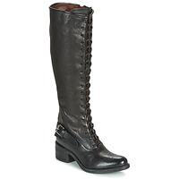 Sko Dame Chikke støvler Airstep / A.S.98 OPEA LACE Sort