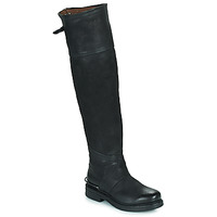Sko Dame Chikke støvler Airstep / A.S.98 BRET HIGH Sort