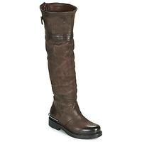 Sko Dame Chikke støvler Airstep / A.S.98 BRET HIGH Brun