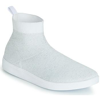 Sko Dame Basketstøvler André ATINA Hvid