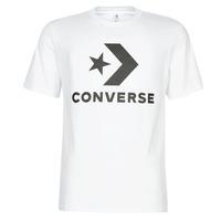 textil Herre T-shirts m. korte ærmer Converse STAR CHEVRON Hvid