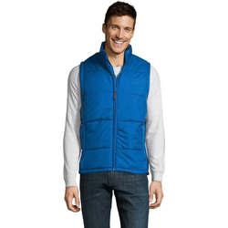 textil Herre Dynejakker Sols WARM PRO WORK Azul