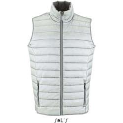 textil Herre Habit vest Sols WAVE LIGHTWEIGHT MEN Plata