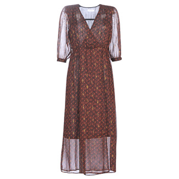 textil Dame Lange kjoler See U Soon 9221839 Sort / Rød