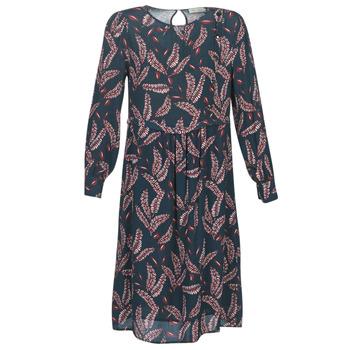 textil Dame Lange kjoler See U Soon 9222127 Marineblå / Bordeaux