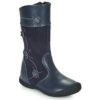 Sko Pige Chikke støvler Citrouille et Compagnie AMATIS Marineblå