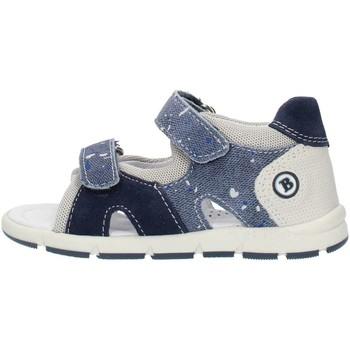 Sko Dreng Sandaler Balocchi 493133 Blue and gray