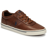 Sko Herre Lave sneakers Polo Ralph Lauren HANFORD Cognac