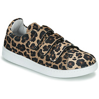 Sko Dame Lave sneakers Yurban LABANE Leopard