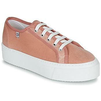 Sko Dame Lave sneakers Yurban SUPERTELA Pink