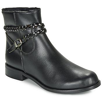 Sko Dame Støvler So Size OSCARDO Sort
