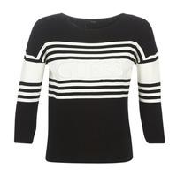 textil Dame Pullovere Guess VIOLANTE Sort / Hvid
