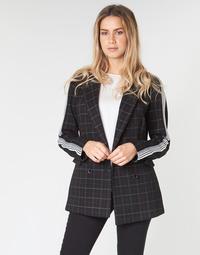 textil Dame Frakker Benetton SUDIDEL Sort