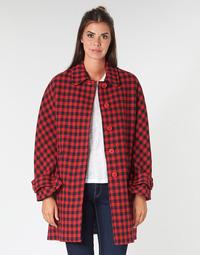 textil Dame Frakker Benetton SIDUDEL Brun / Flerfarvet