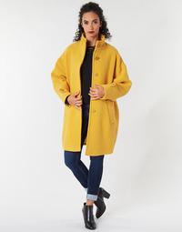 textil Dame Frakker Benetton STORI Gul