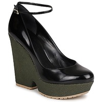 Sko Dame Pumps Sonia Rykiel LOCK Sort / Grøn