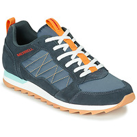 Sko Herre Lave sneakers Merrell ALPINE SNEAKER Blå / Orange