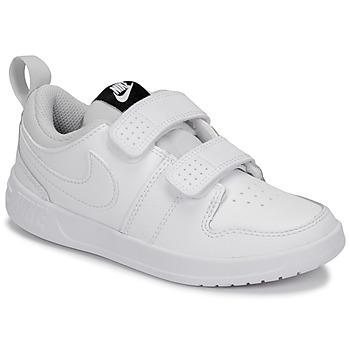 Sko Børn Lave sneakers Nike PICO 5 PRE-SCHOOL Hvid