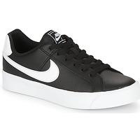 Sko Dame Lave sneakers Nike COURT ROYALE AC W Sort / Hvid