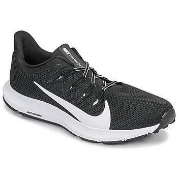Sko Herre Løbesko Nike QUEST 2 Sort / Hvid