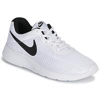 Sko Herre Lave sneakers Nike TANJUN Hvid / Sort