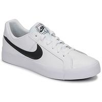 Sko Herre Lave sneakers Nike COURT ROYALE AC Hvid / Sort