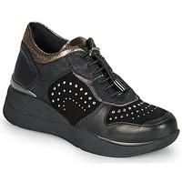 Sko Dame Lave sneakers Stonefly ELETTRA 6 Sort