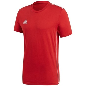 textil Herre T-shirts m. korte ærmer adidas Originals Core 18 Rød