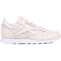 Sko Pige Lave sneakers Reebok Sport Classic Leather Pink