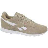 Sko Børn Lave sneakers Reebok Sport Classic Leather Hvid,Beige