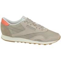 Sko Dame Lave sneakers Reebok Sport CL Nylon Beige