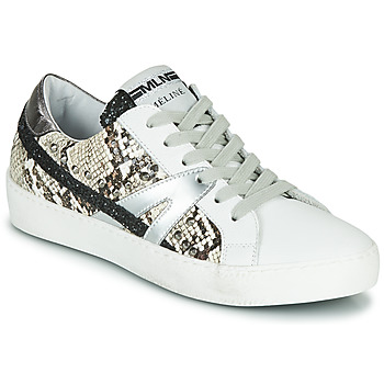 Sko Dame Lave sneakers Meline PANNA Hvid / Pyton