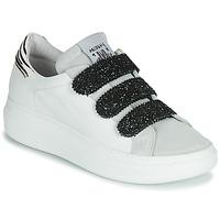 Sko Dame Lave sneakers Meline SCRATCHO Hvid / Glitter