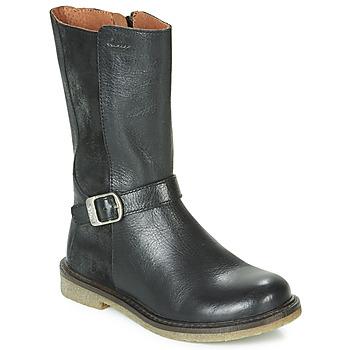 Sko Pige Chikke støvler Aster WALI Sort