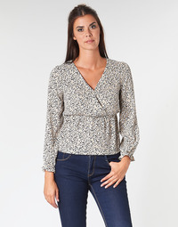 textil Dame Toppe / Bluser Betty London LOVA Beige / Sort